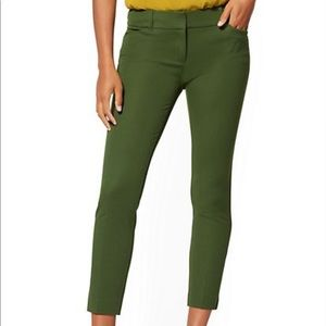 NWT NYC olive green The Audrey Pant
